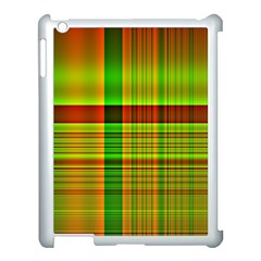 Multicoloured Background Pattern Apple Ipad 3/4 Case (white) by Simbadda