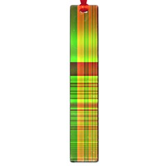 Multicoloured Background Pattern Large Book Marks by Simbadda