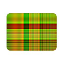 Multicoloured Background Pattern Double Sided Flano Blanket (mini)  by Simbadda