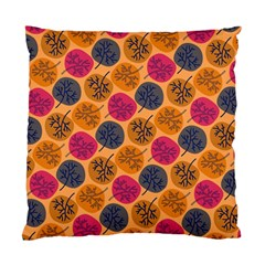 Colorful Trees Background Pattern Standard Cushion Case (one Side) by Simbadda