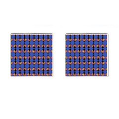 Abstract Lines Seamless Pattern Cufflinks (square) by Simbadda