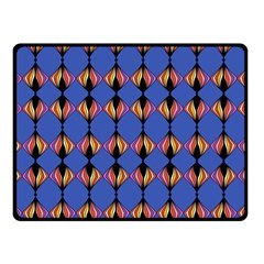 Abstract Lines Seamless Pattern Double Sided Fleece Blanket (small)  by Simbadda
