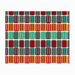 Bricks Abstract Seamless Pattern Small Glasses Cloth (2 Side) by Simbadda