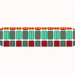 Bricks Abstract Seamless Pattern Large Bar Mats by Simbadda