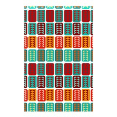 Bricks Abstract Seamless Pattern Shower Curtain 48  X 72  (small)  by Simbadda
