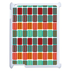Bricks Abstract Seamless Pattern Apple Ipad 2 Case (white) by Simbadda