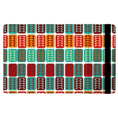 Bricks Abstract Seamless Pattern Apple Ipad 2 Flip Case by Simbadda