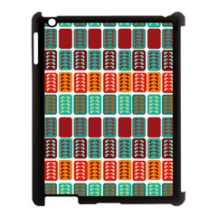 Bricks Abstract Seamless Pattern Apple Ipad 3/4 Case (black) by Simbadda