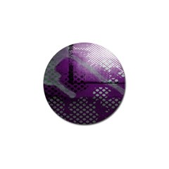 Evil Moon Dark Background With An Abstract Moonlit Landscape Golf Ball Marker (4 Pack) by Simbadda