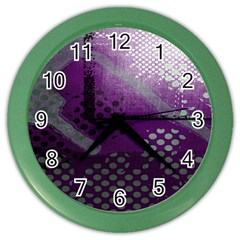 Evil Moon Dark Background With An Abstract Moonlit Landscape Color Wall Clocks by Simbadda