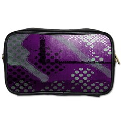 Evil Moon Dark Background With An Abstract Moonlit Landscape Toiletries Bags 2 Side by Simbadda