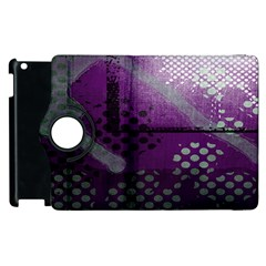 Evil Moon Dark Background With An Abstract Moonlit Landscape Apple Ipad 2 Flip 360 Case by Simbadda