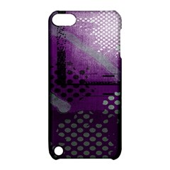 Evil Moon Dark Background With An Abstract Moonlit Landscape Apple Ipod Touch 5 Hardshell Case With Stand by Simbadda