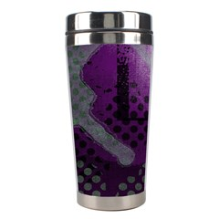 Evil Moon Dark Background With An Abstract Moonlit Landscape Stainless Steel Travel Tumblers by Simbadda