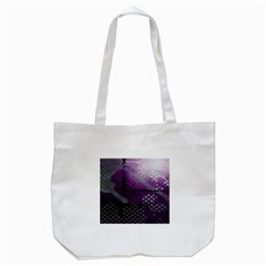 Evil Moon Dark Background With An Abstract Moonlit Landscape Tote Bag (white) by Simbadda