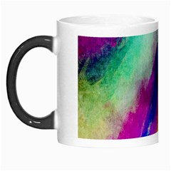 Colorful Abstract Paint Splats Background Morph Mugs by Simbadda