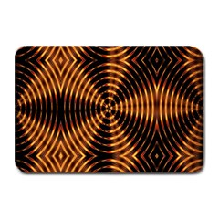 Fractal Pattern Of Fire Color Plate Mats by Simbadda