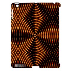 Fractal Pattern Of Fire Color Apple Ipad 3/4 Hardshell Case (compatible With Smart Cover) by Simbadda