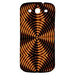 Fractal Pattern Of Fire Color Samsung Galaxy S3 S Iii Classic Hardshell Back Case by Simbadda