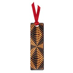 Fractal Pattern Of Fire Color Small Book Marks by Simbadda