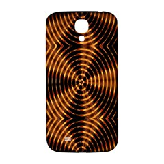 Fractal Pattern Of Fire Color Samsung Galaxy S4 I9500/I9505  Hardshell Back Case