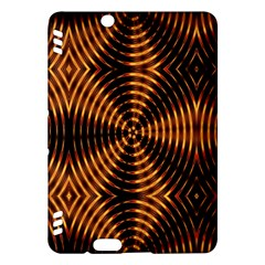 Fractal Pattern Of Fire Color Kindle Fire Hdx Hardshell Case by Simbadda