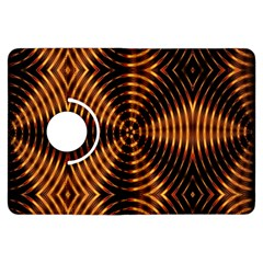 Fractal Pattern Of Fire Color Kindle Fire Hdx Flip 360 Case by Simbadda