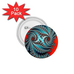 Digital Fractal Pattern 1 75  Buttons (10 Pack) by Simbadda