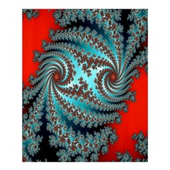 Digital Fractal Pattern Shower Curtain 60  X 72  (medium)  by Simbadda