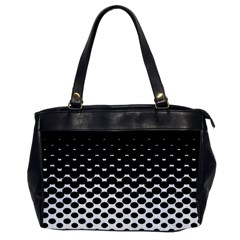 Halftone Gradient Pattern Office Handbags by Simbadda