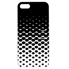 Halftone Gradient Pattern Apple Iphone 5 Hardshell Case With Stand by Simbadda