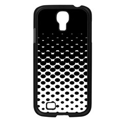 Halftone Gradient Pattern Samsung Galaxy S4 I9500/ I9505 Case (black) by Simbadda