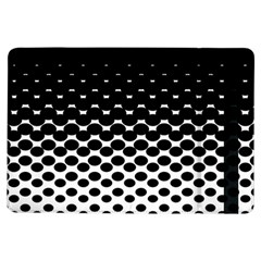 Halftone Gradient Pattern Ipad Air Flip by Simbadda