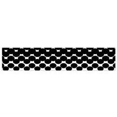 Halftone Gradient Pattern Flano Scarf (small)