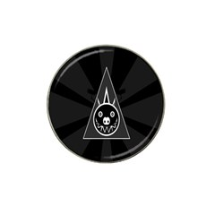 Abstract Pigs Triangle Hat Clip Ball Marker (4 Pack) by Simbadda