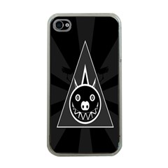 Abstract Pigs Triangle Apple Iphone 4 Case (clear) by Simbadda