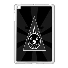 Abstract Pigs Triangle Apple Ipad Mini Case (white) by Simbadda