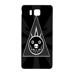 Abstract Pigs Triangle Samsung Galaxy Alpha Hardshell Back Case by Simbadda