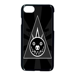 Abstract Pigs Triangle Apple Iphone 7 Seamless Case (black) by Simbadda