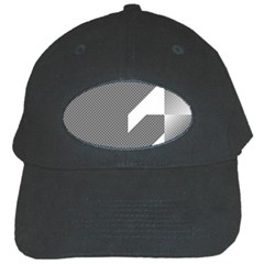 Gradient Base Black Cap by Simbadda