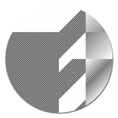 Gradient Base Magnet 5  (round) by Simbadda