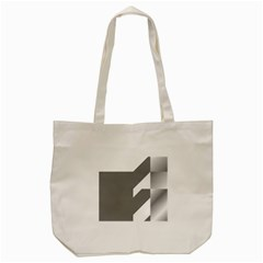 Gradient Base Tote Bag (cream) by Simbadda