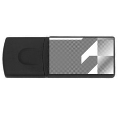 Gradient Base Usb Flash Drive Rectangular (4 Gb) by Simbadda