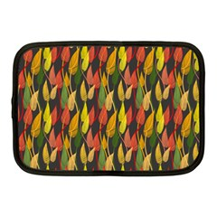Colorful Leaves Yellow Red Green Grey Rainbow Leaf Netbook Case (medium)  by Alisyart