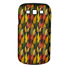 Colorful Leaves Yellow Red Green Grey Rainbow Leaf Samsung Galaxy S Iii Classic Hardshell Case (pc+silicone) by Alisyart
