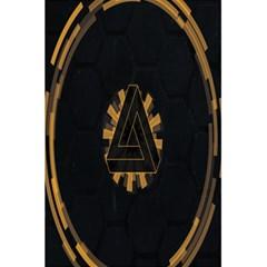 Geometry Interfaces Deus Ex Human Revolution Deus Ex Penrose Triangle 5 5  X 8 5  Notebooks by Simbadda