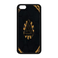 Geometry Interfaces Deus Ex Human Revolution Deus Ex Penrose Triangle Apple Iphone 5c Seamless Case (black) by Simbadda