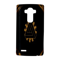 Geometry Interfaces Deus Ex Human Revolution Deus Ex Penrose Triangle Lg G4 Hardshell Case by Simbadda