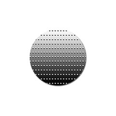 Gradient Oval Pattern Golf Ball Marker by Simbadda