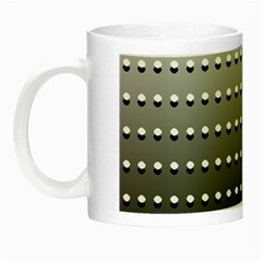 Gradient Oval Pattern Night Luminous Mugs by Simbadda